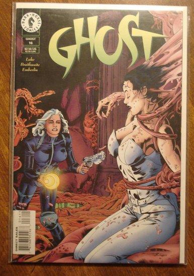 Ghost #16 comic book - Dark Horse comics