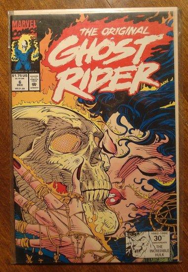 The original Ghost Rider #6 comic book - Marvel comics