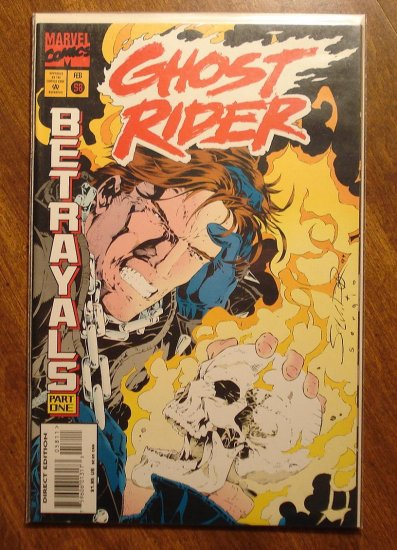 Ghost Rider #58 comic book - Marvel comics