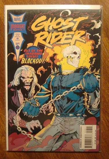 Ghost Rider #53 comic book - Marvel comics