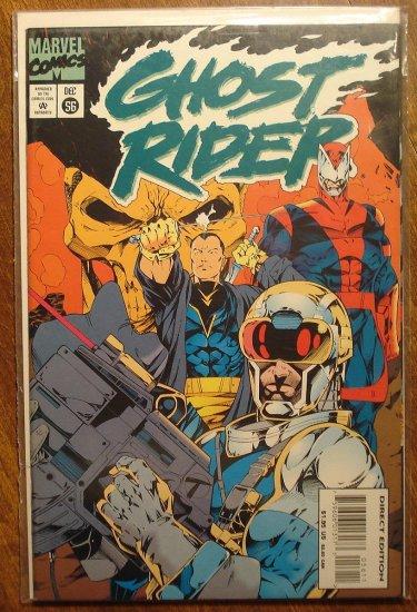 Ghost Rider #56 comic book - Marvel comics