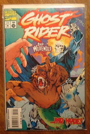 Ghost Rider #55 comic book - Marvel comics