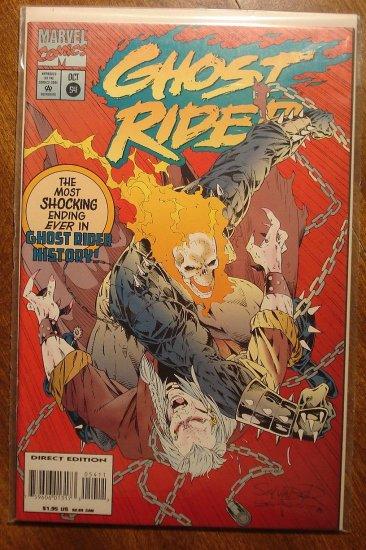 Ghost Rider #54 comic book - Marvel comics