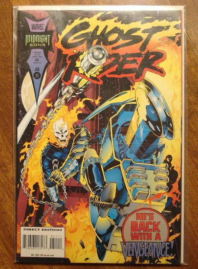 Ghost Rider #51 comic book - Marvel comics
