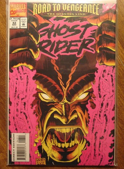 Ghost Rider #43 comic book - Marvel comics