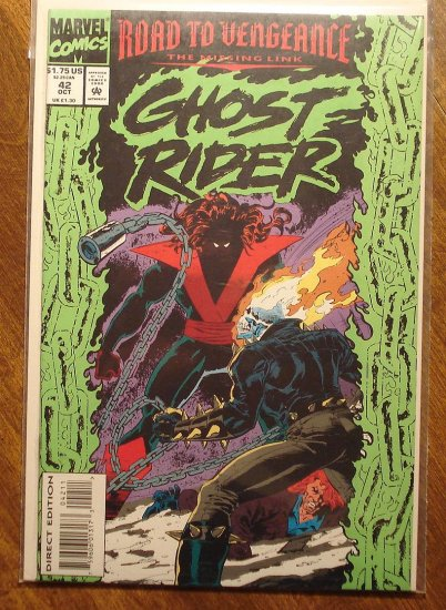 Ghost Rider #42 comic book - Marvel comics