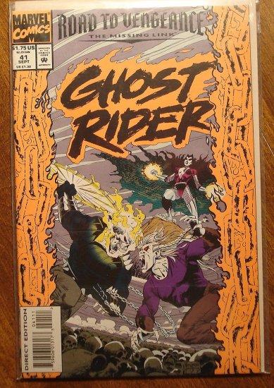 Ghost Rider #41 comic book - Marvel comics