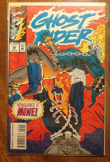Ghost Rider #39 comic book - Marvel comics