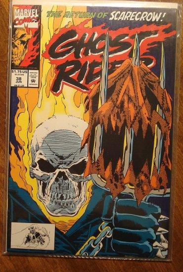 Ghost Rider #38 comic book - Marvel comics