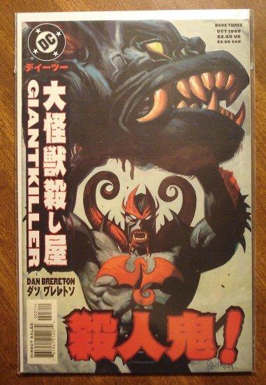 Giantkiller #3 comic book - DC comics