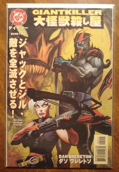 Giantkiller #2 comic book - DC comics