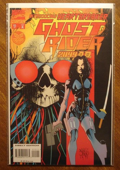 Ghost Rider 2099 #15 comic book - Marvel comics