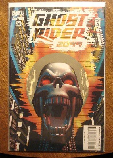 Ghost Rider 2099 #12 comic book - Marvel comics