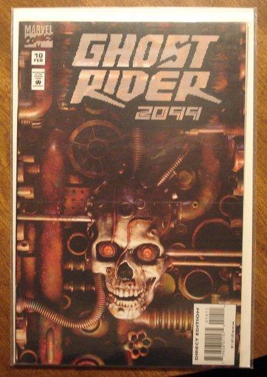Ghost Rider 2099 #10 comic book - Marvel comics