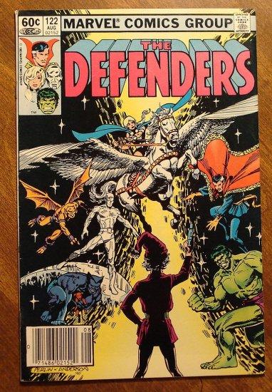 The Defenders #122 comic book - Marvel comics