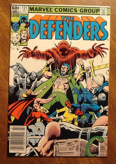 The Defenders #121 comic book - Marvel comics