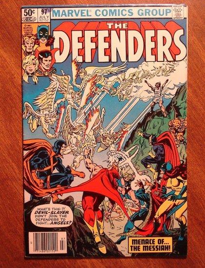 The Defenders #97 comic book - Marvel comics
