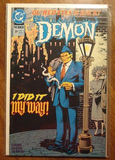 The Demon #39 comic book - DC comics