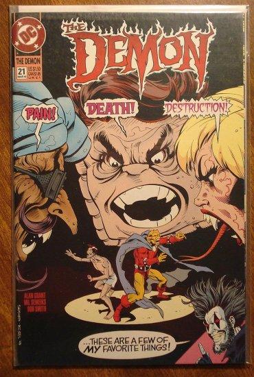 The Demon #21 comic book - DC comics