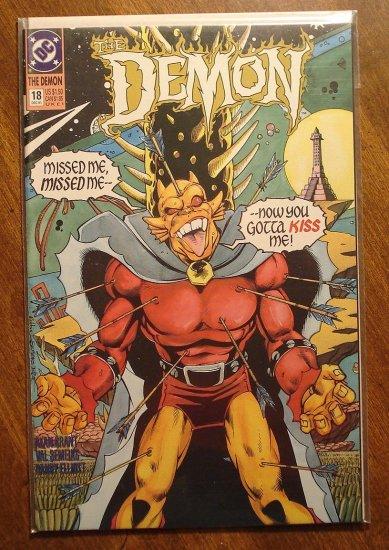 The Demon #18 comic book - DC comics