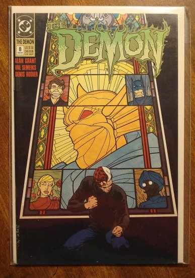 The Demon #8 comic book - DC comics