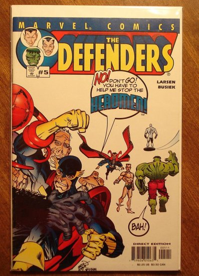 The Defenders #5 (2001) comic book - Marvel comics