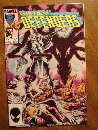 The Defenders #144 comic book - Marvel comics