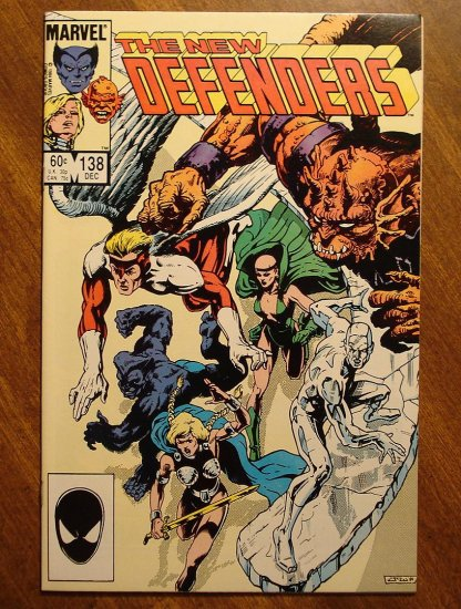 The Defenders #138 comic book - Marvel comics