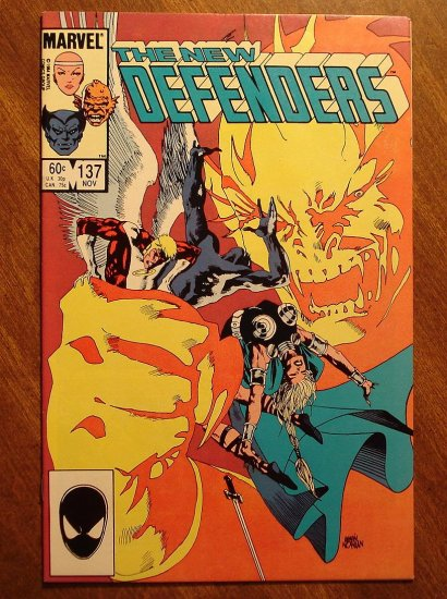 The Defenders #137 comic book - Marvel comics