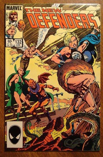 The Defenders #132 comic book - Marvel comics