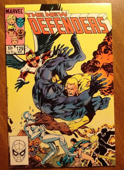 The Defenders #129 comic book - Marvel comics