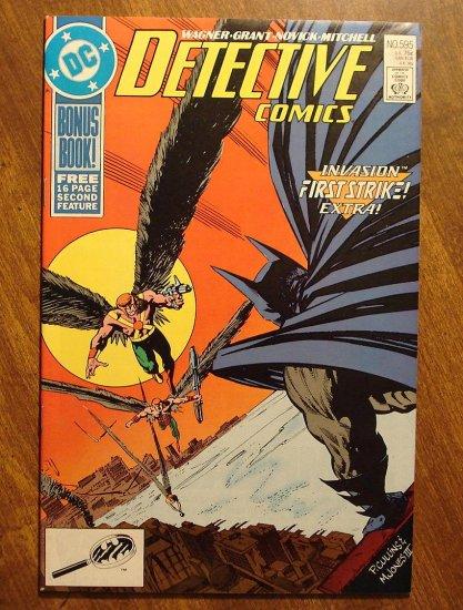 Detective Comics #595 comic book - DC Comics, Batman
