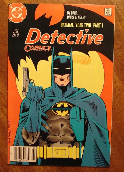 Detective Comics #575 comic book - DC Comics, Batman, Todd McFarlane, Year 2, Part 1