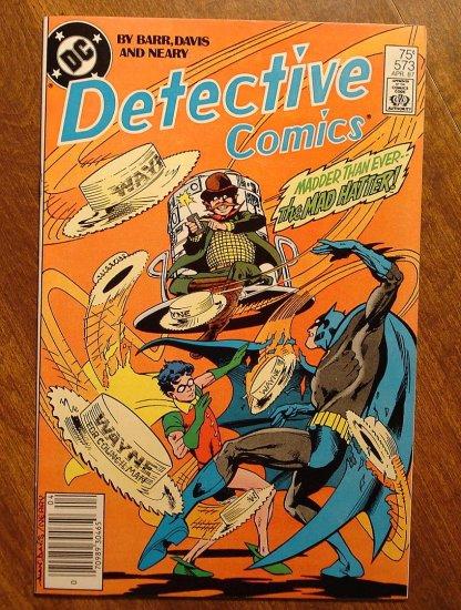 Detective Comics #573 comic book - DC Comics, Batman