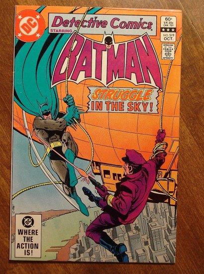 Detective Comics #519 comic book VF - DC Comics, Batman