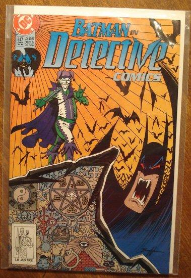 Detective Comics #617 comic book - DC Comics, Batman