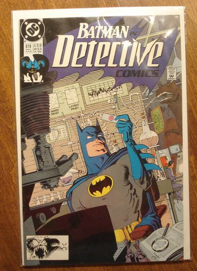 Detective Comics #619 comic book - DC Comics, Batman