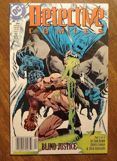 Detective Comics #599 comic book - DC Comics, Batman
