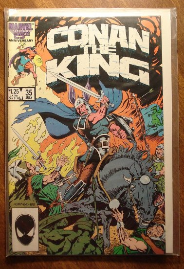 Conan The King #35 comic book - Marvel comics