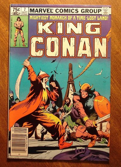 King Conan #7 comic book - Marvel comics