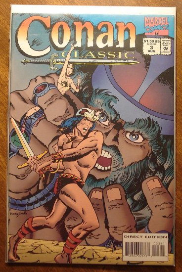 Conan Classic #3 comic book - Marvel comics