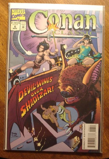 Conan Classic #6 comic book - Marvel comics
