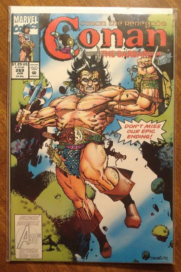 Conan The Barbarian #269 comic book - Marvel comics