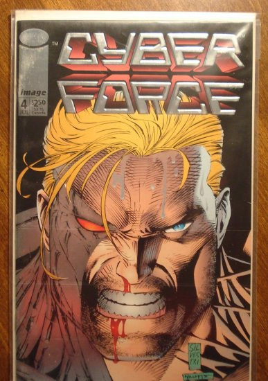 CyberForce #4 comic book - Image comics, cyber force