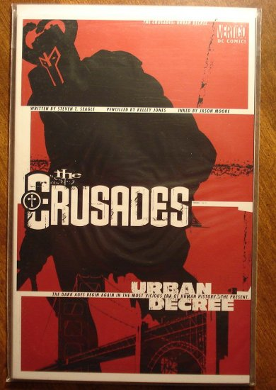 The Crusades: Urban Decree deluxe format comic book - DC (Vertigo) Comics
