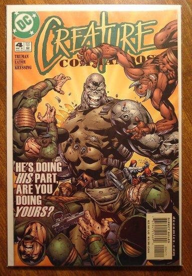 Creature Commandos #4 comic book - DC Comics