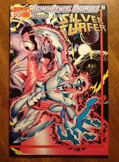 Cosmic Powers Unlimited Starring The Silver Surfer #2 comic book - Marvel comics