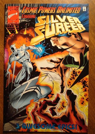Cosmic Powers Unlimited Starring The Silver Surfer #3 comic book - Marvel comics