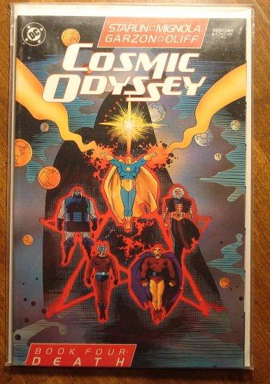 Cosmic Odyssey #4 comic book - DC Comics, Jim Starlin, Mike Mignola