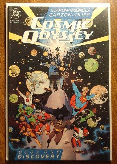 Cosmic Odyssey #1 comic book - DC Comics, Jim Starlin, Mike Mignola